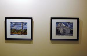 Collage artist Megan Coyle exhibit