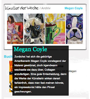 Megan Coyle Artist of the Week