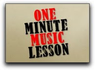 One Minute Music Lesson