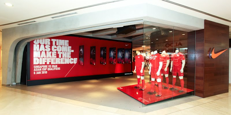 nike boutique in singapore
