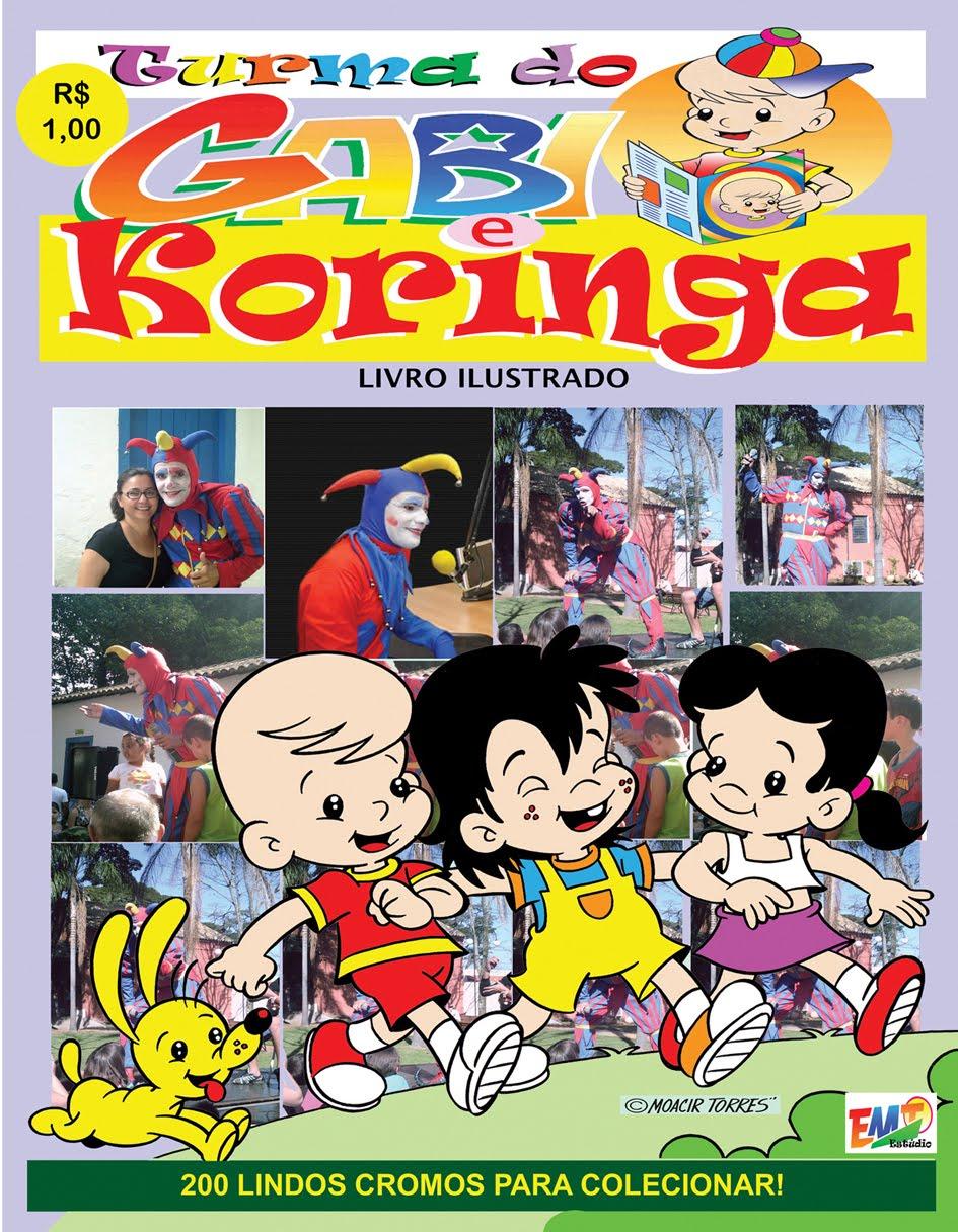 Album De Figurinhas Do Palhaco Koringa E Da Turma Do Gabi