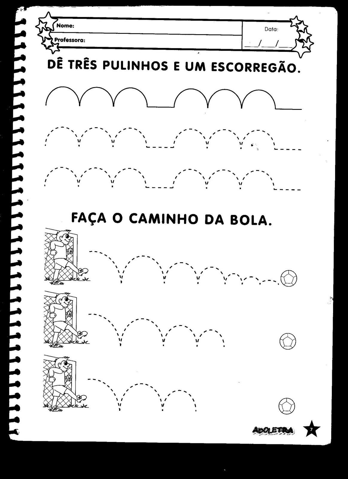Tarefinhas De Portugues Pronta Para Imprimir