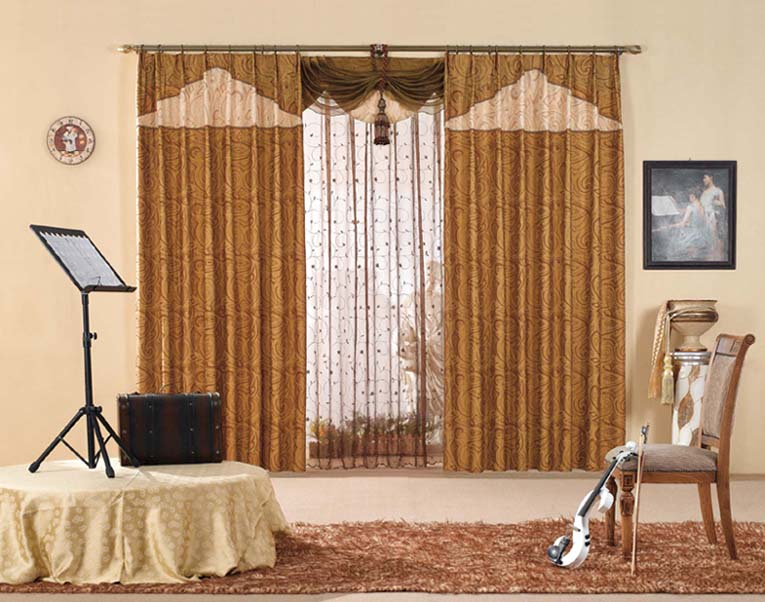 Living Room Curtains And Drapes