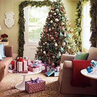 Living Room for Christmas