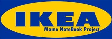 Mame Ikea NoteBook