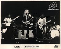 Led Zeppelin em 1971 na Irlanda