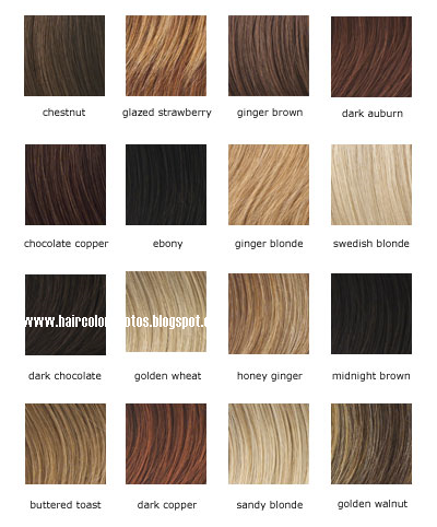 Hudson Gallery Wella Red Hair Colour Chart