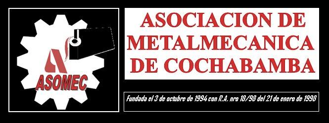 ASOCIACION DE METALMECANICA DE COCHABAMBA