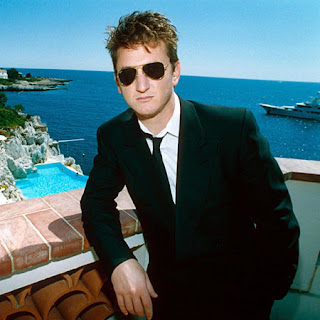 sean penn at cannes in 1990 sim...