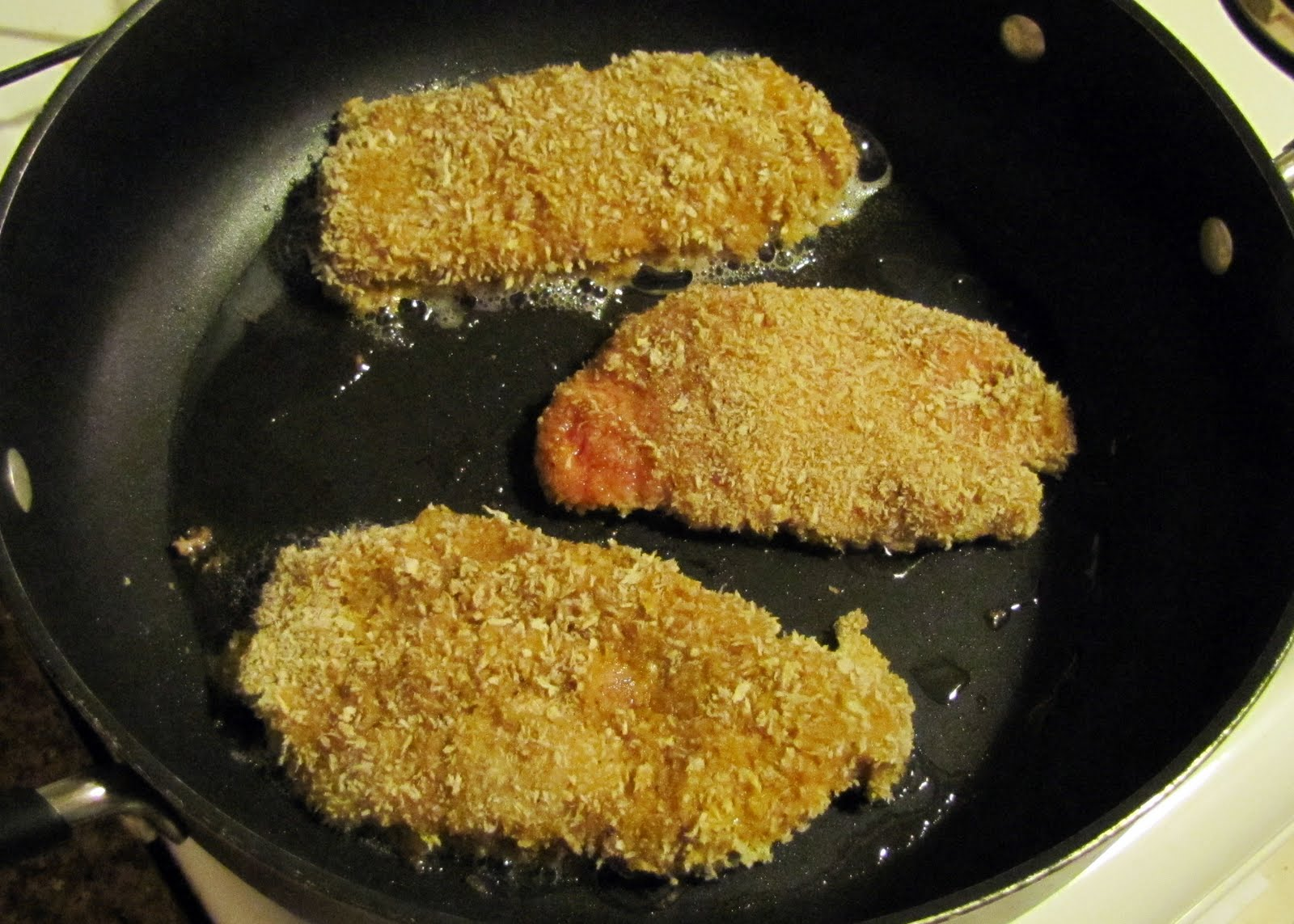 First Off, The Flour And Panko Quantity Were Sufficient For My 5 Chops But  When