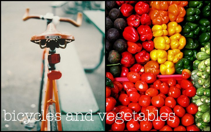 Bicycles and Vegetables