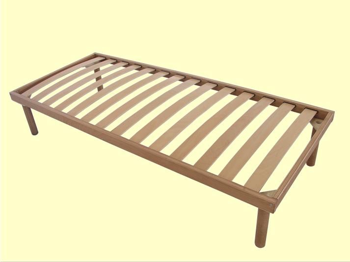 Simple Single Bed : Simple Single Bed Frame Model 1