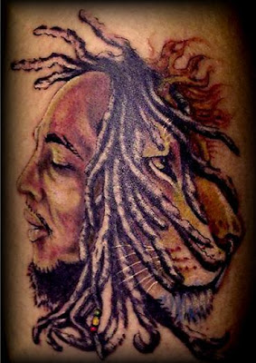Step 3: High Quality Tattoo Stencils. groundation dragon war, bob marley and