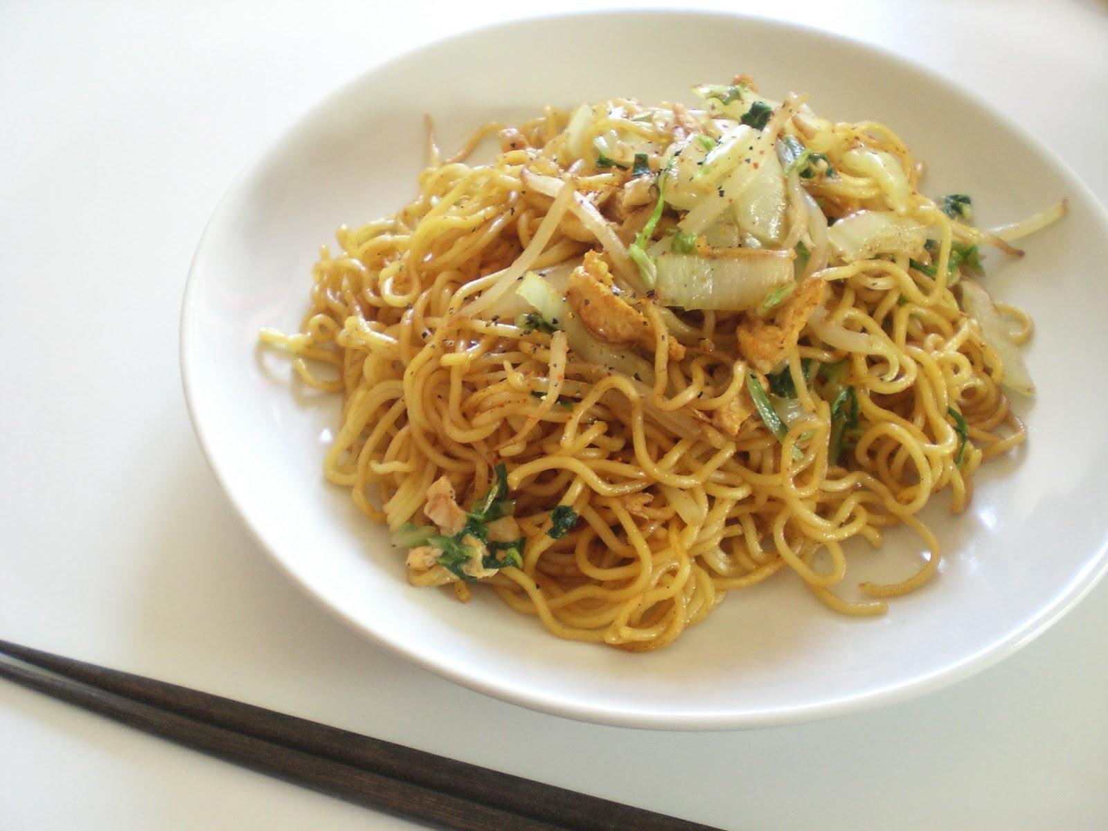 Yakisoba (Fried Noodles) Recipe — Dishmaps