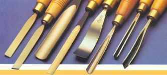 Herramientas para talla en madera