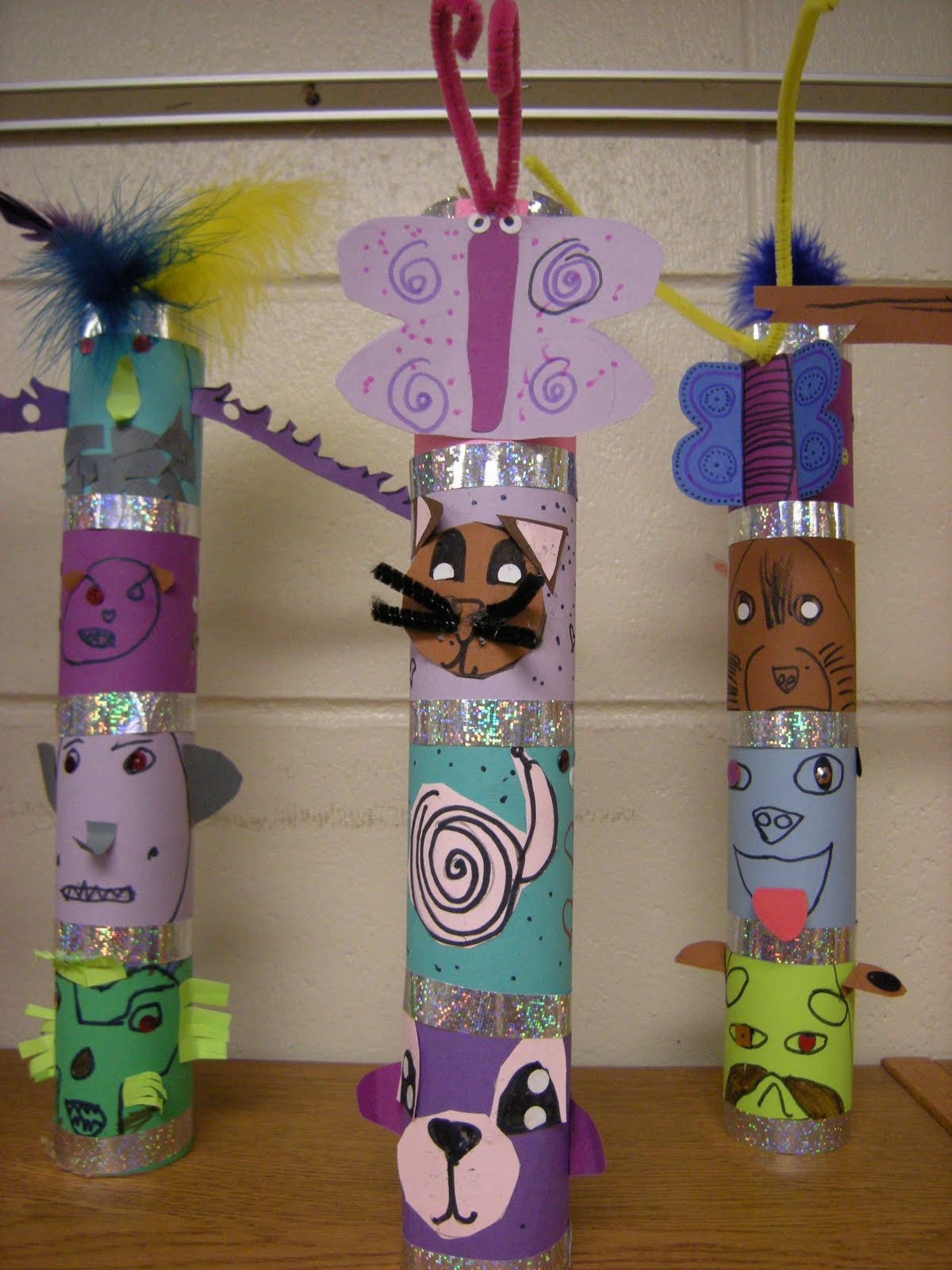 totem pole project I am sooo excited to share with you a totally terrific totem pole project this is a project that my second graders are working on right now in correlation with our social studies unit (cultures and customs.