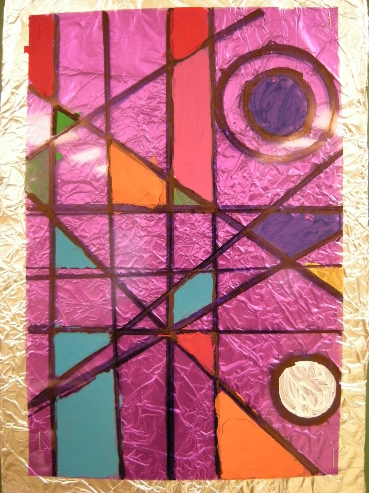 what 39 s happening in the art room 4th grade frank lloyd wright stained glass. Black Bedroom Furniture Sets. Home Design Ideas