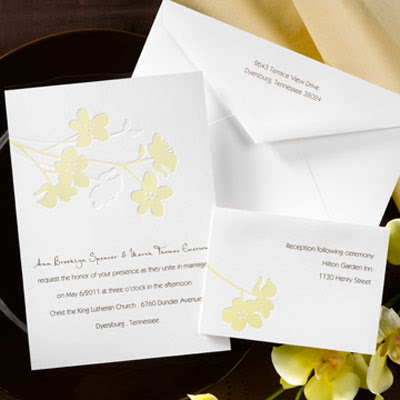 easier than with ecofriendly wedding invitations from Carlson Craft