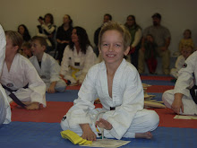 Getting the yellow belt.