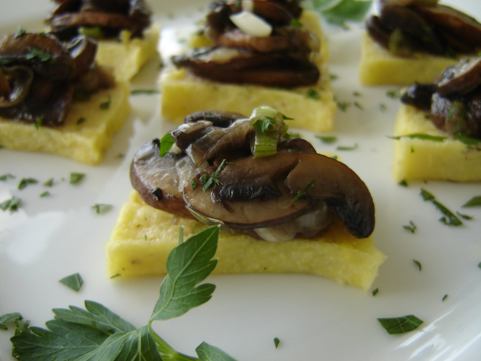 Polenta With Wild Mushrooms Recipes — Dishmaps