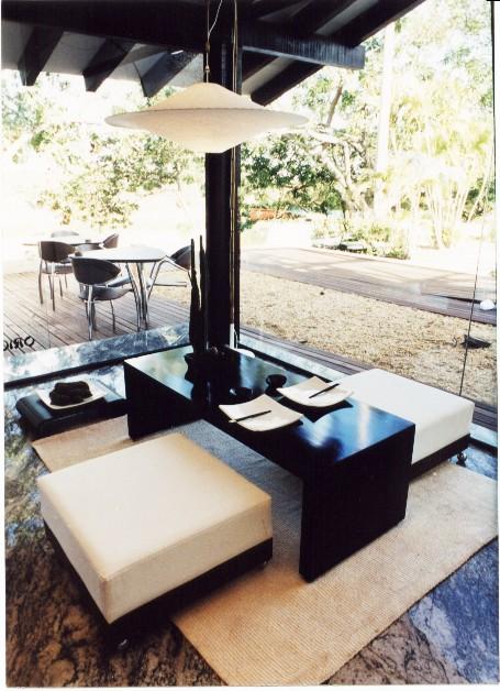 Casa Cor Mato Grosso 2001   Sushi Bar Interior Design Marlem Vilela