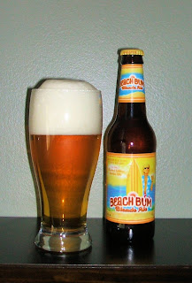 Beer Review – Anheuser Busch Beach Bum Blonde Ale