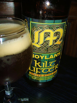 BEER REVIEW – MOYLAN'S KILTLIFTER SCOTCH-STYLE ALE