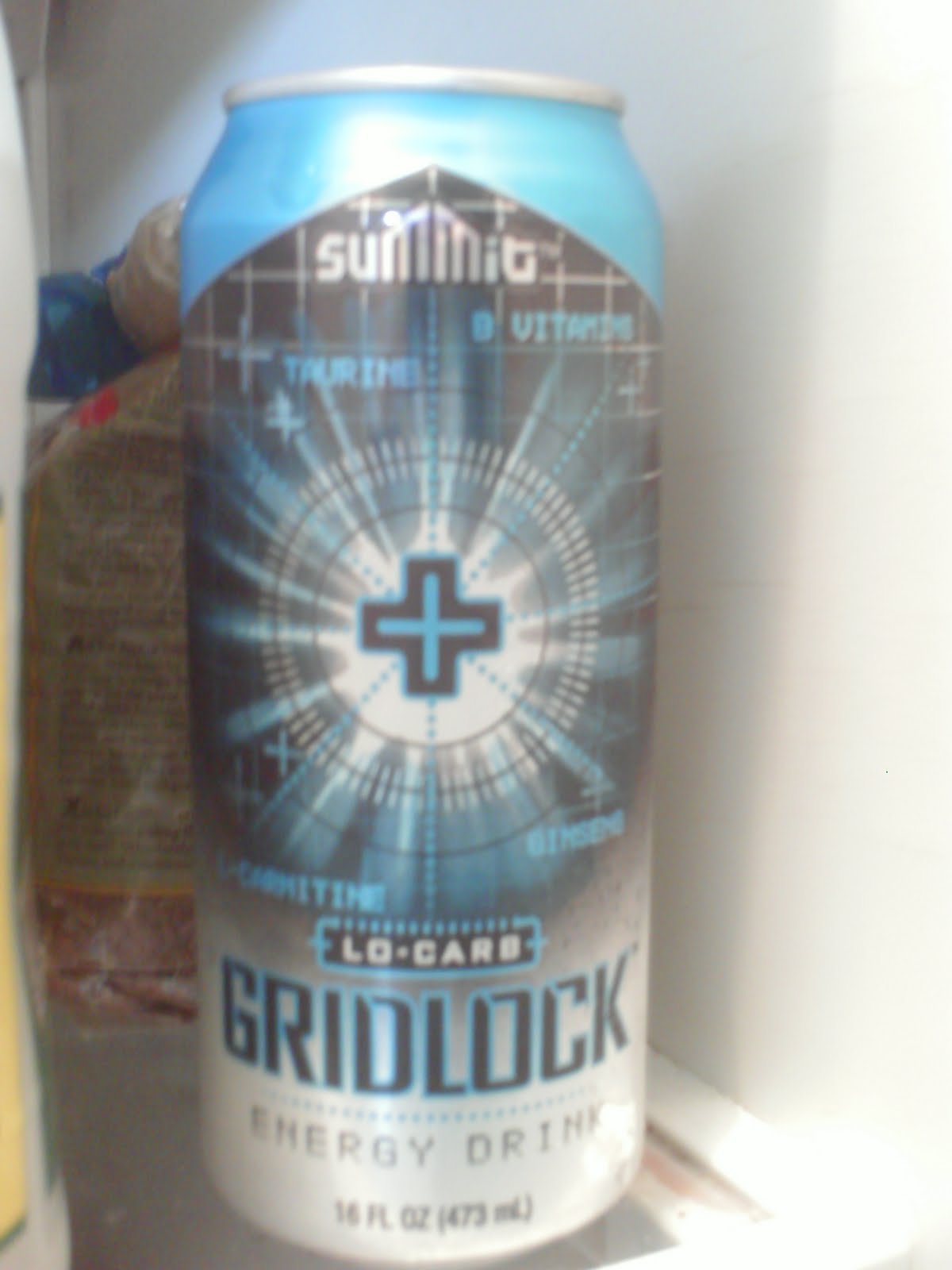 Energy Drink Heaven: Gridlock:sugar free