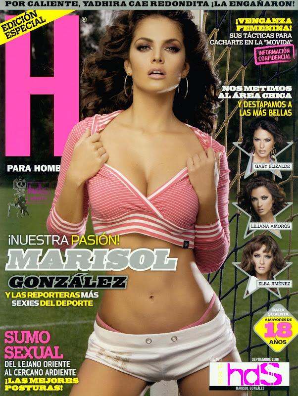 Marisol Gonzalez Revista H para Hombres Septiembre 2009