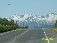 Just one of the views as we drove to Valdez