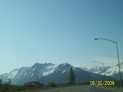 View as we drove back north to Anchorage
