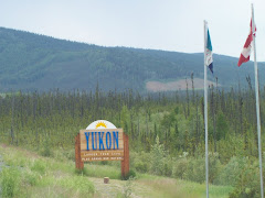 Entering once again into the Yukon, Canada
