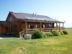 "Niemeirs' log ""cabin"""