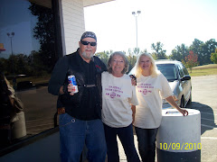 Gil with Volunteers at Poker Run
