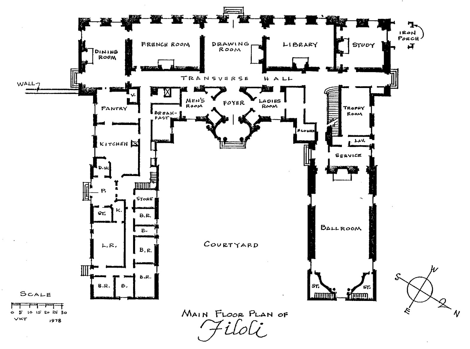 Of All Design Filoli Floorplan