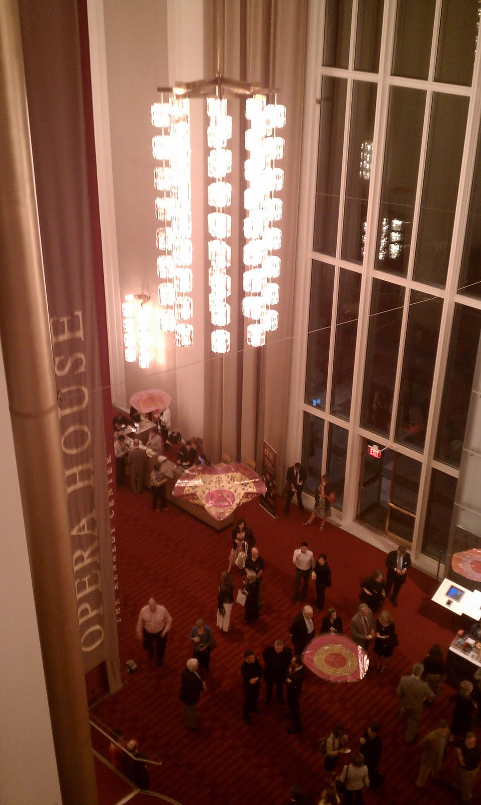 Grand Foyer Kennedy Center : Architect design™ an evening at the kennedy center