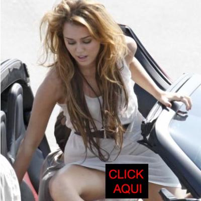 Foto de Miley Cyrus sin ropa interior