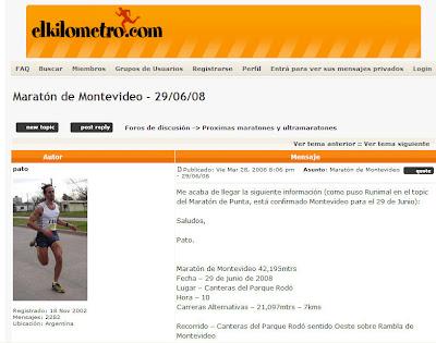 Foro running argentina