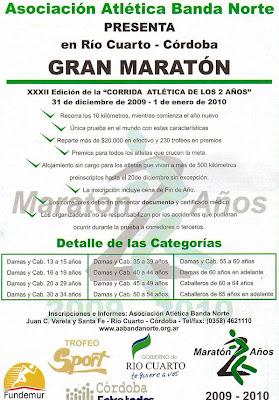 Halcones marat n de los dos a os 10k r o iv c rdoba for Rio cuarto 230 anos