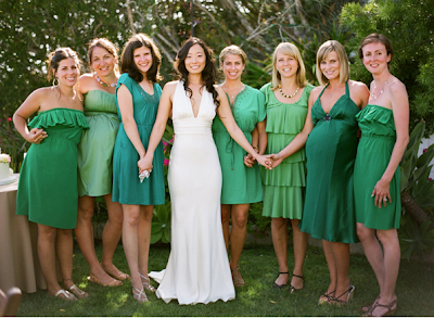 Green Bridesmaid Dresses on And This Photo Is From Heather P  Moore Photography   The Gal We Were