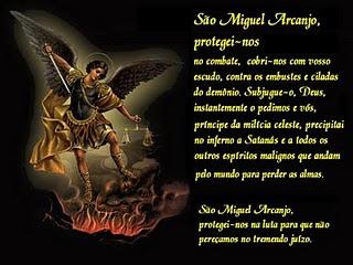 Oração à São Miguel Arcanjo