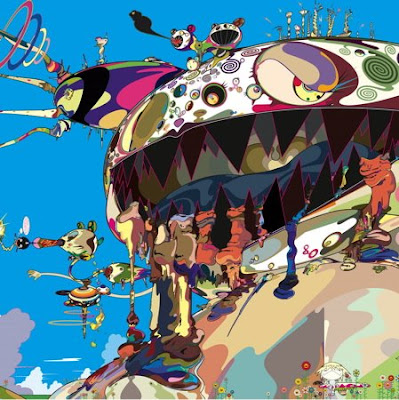 takashi murakami wallpaper. takashi murakami wallpaper