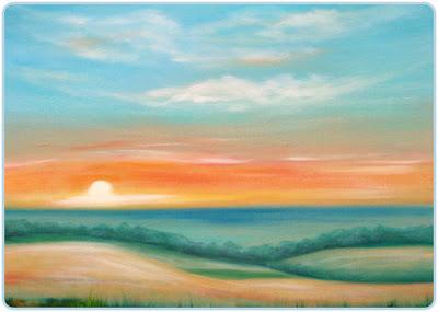 Innovative Sunset creative Oil Paintings on Canvas | Oil Painting