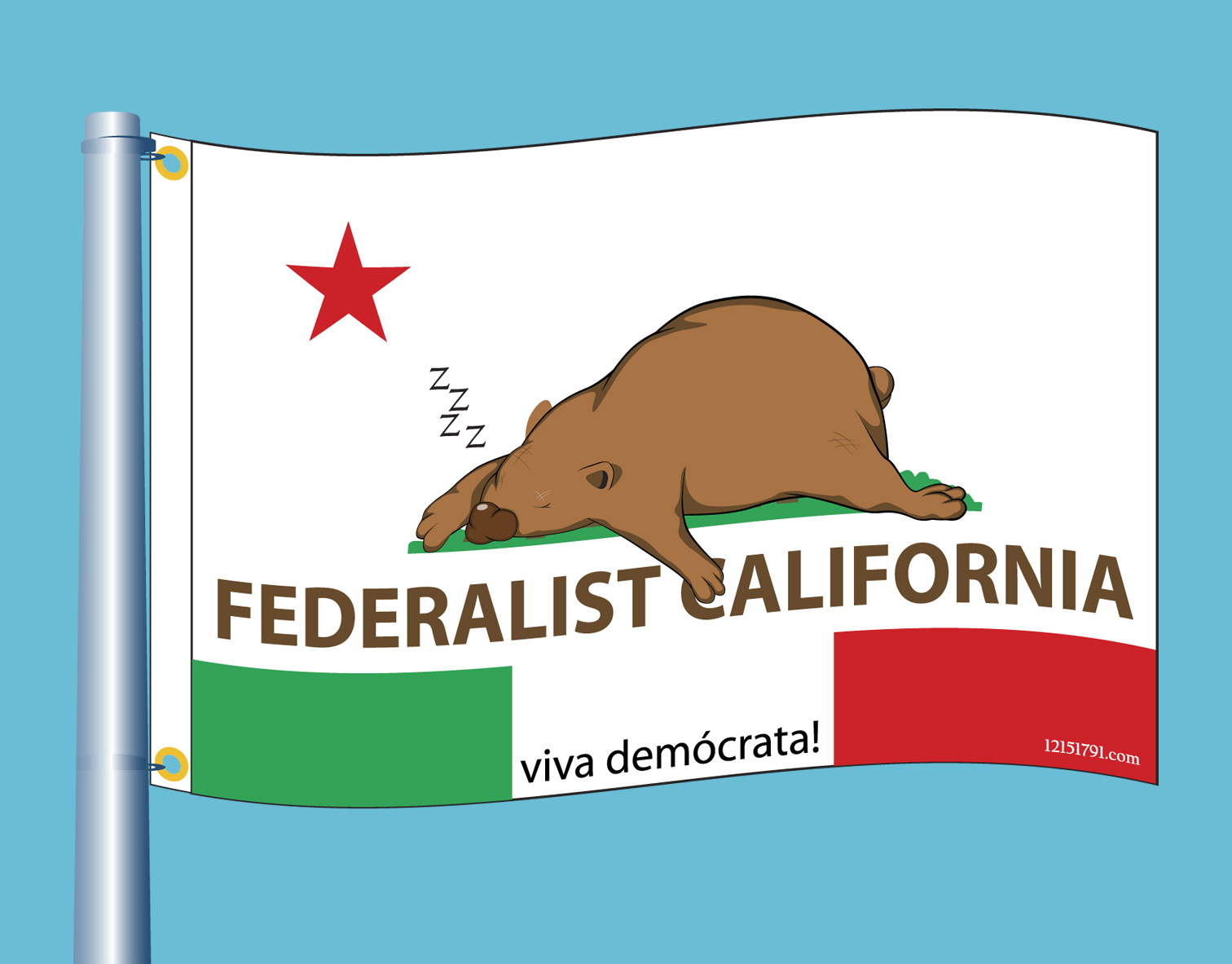 New California Flag
