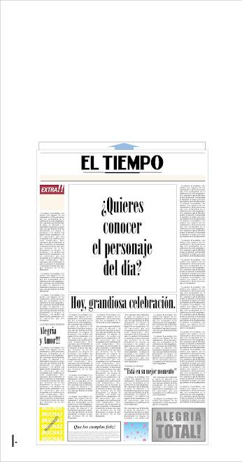 TARJETA CUMPLEAÑOS EL TIEMPO - ceet