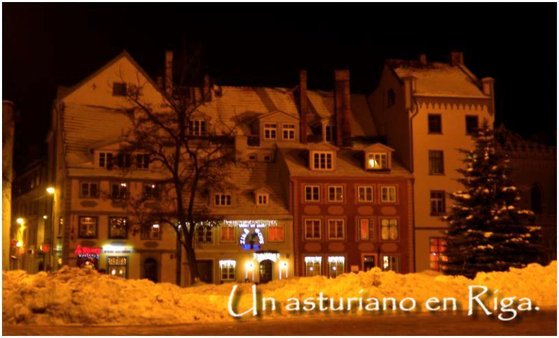 Un asturiano en Riga