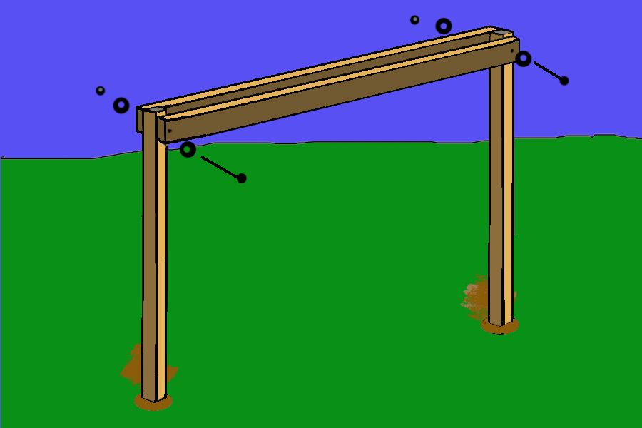 ... Playhouse Playset Swing Set Plans. on plans for wooden swing set