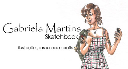 Gabi Martis - caderno de rascunhos
