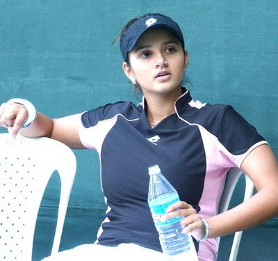 Sania Mirza  on Sexy Wallpapers Of Indian Tennis Player Sania Mirza   Web Media Portal