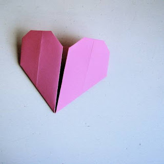 Origami Heart - Christmas Origami
